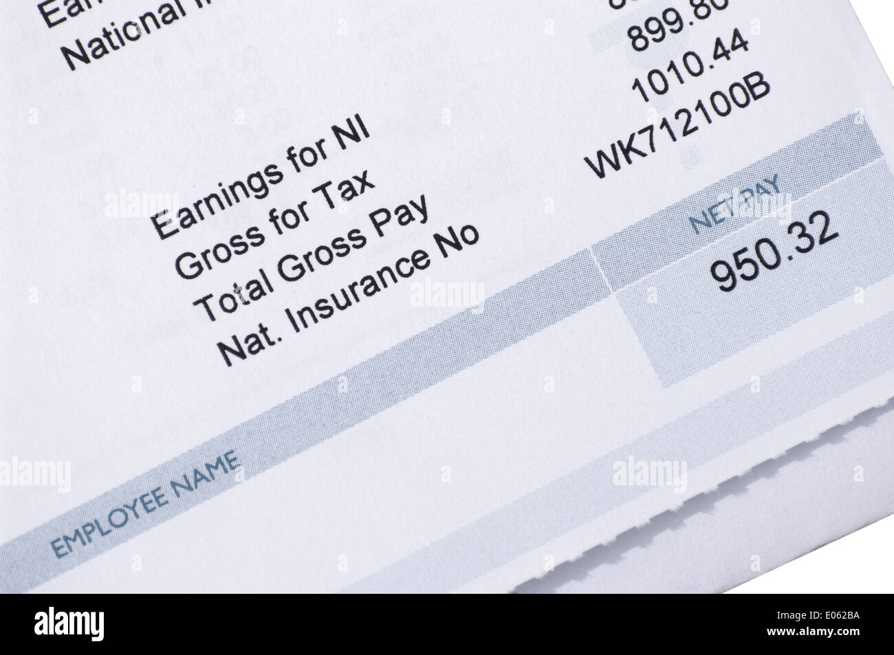 pay statement