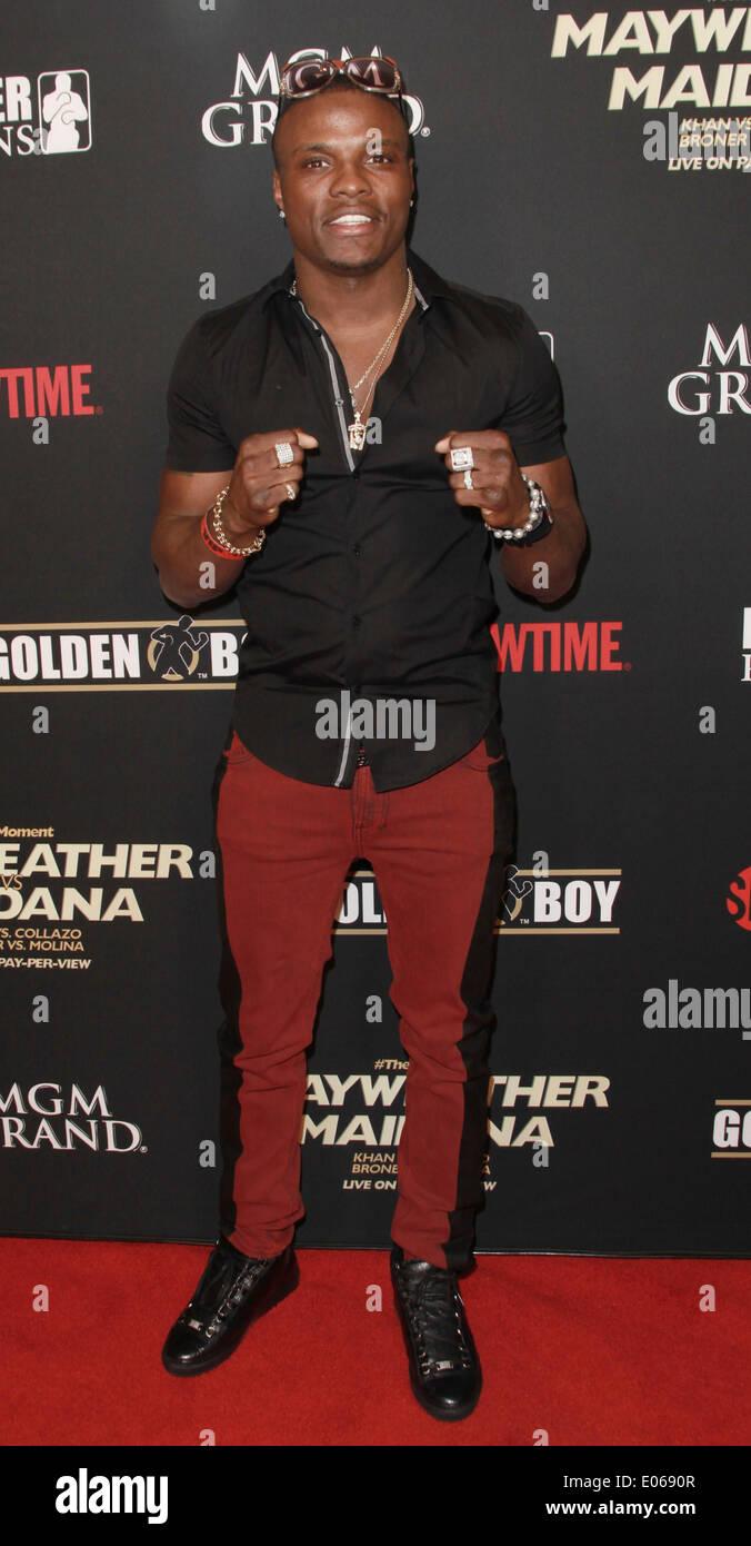 Las Vegas, Nevada, USA. 3rd May, 2014. Boxer Kid Chocolate attends ...