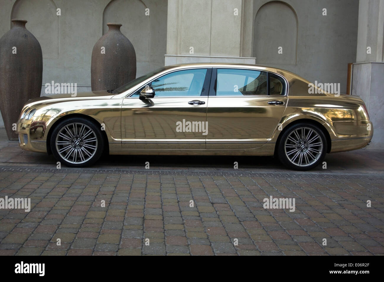 Bentley continental flying spur stock photos bentley continental gold bentley continental flying spur motor car stock image vanachro Gallery