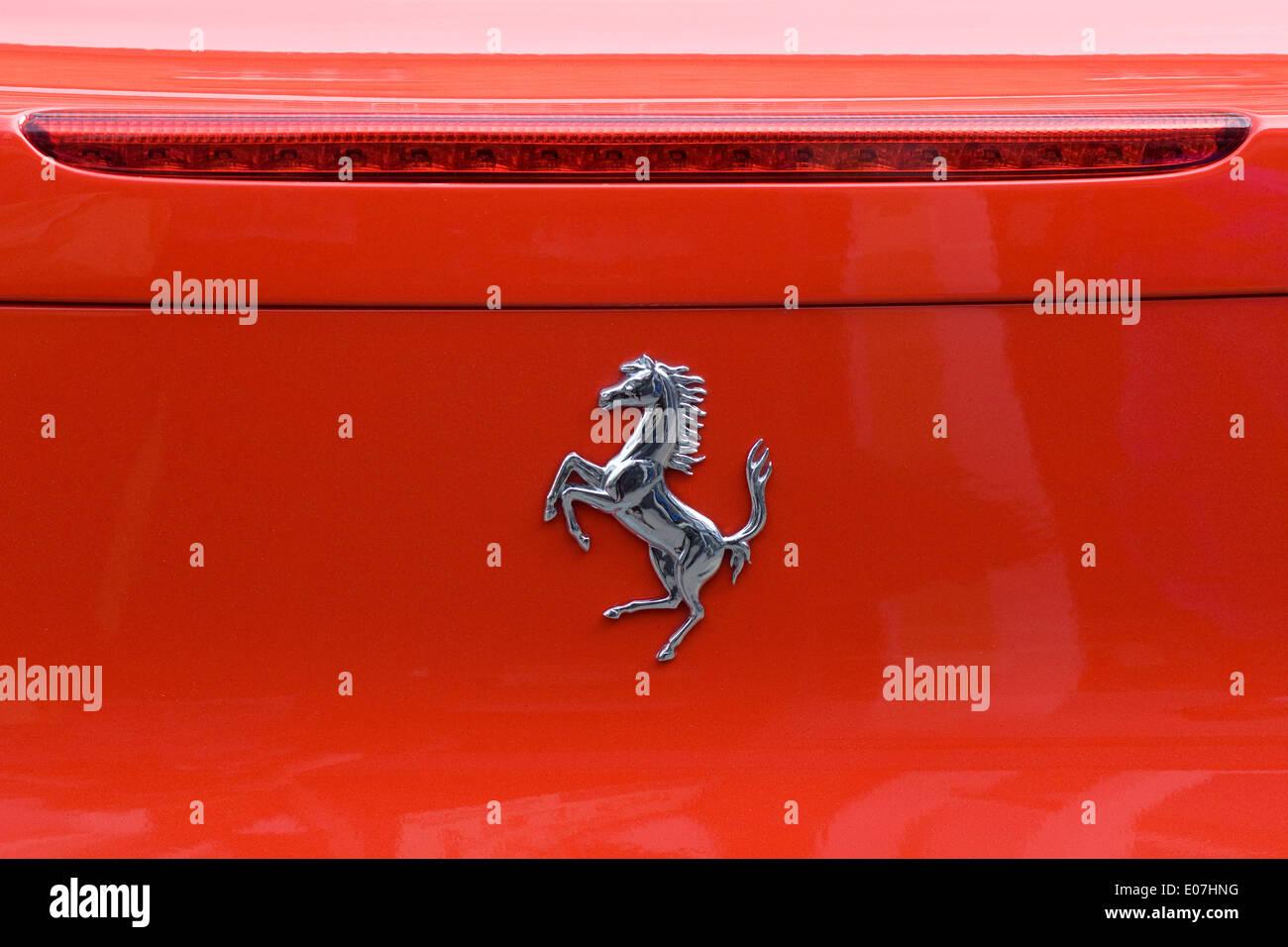 Ferrari name badge and horse logo ferrari 458 italia stock photo ferrari name badge and horse logo ferrari 458 italia biocorpaavc Gallery