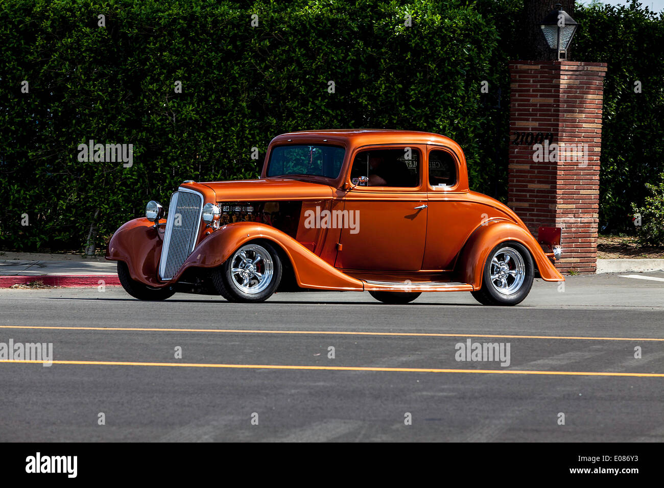 A 1934 chevy 5 window coupe stock photo royalty free for 1934 chevy 5 window coupe