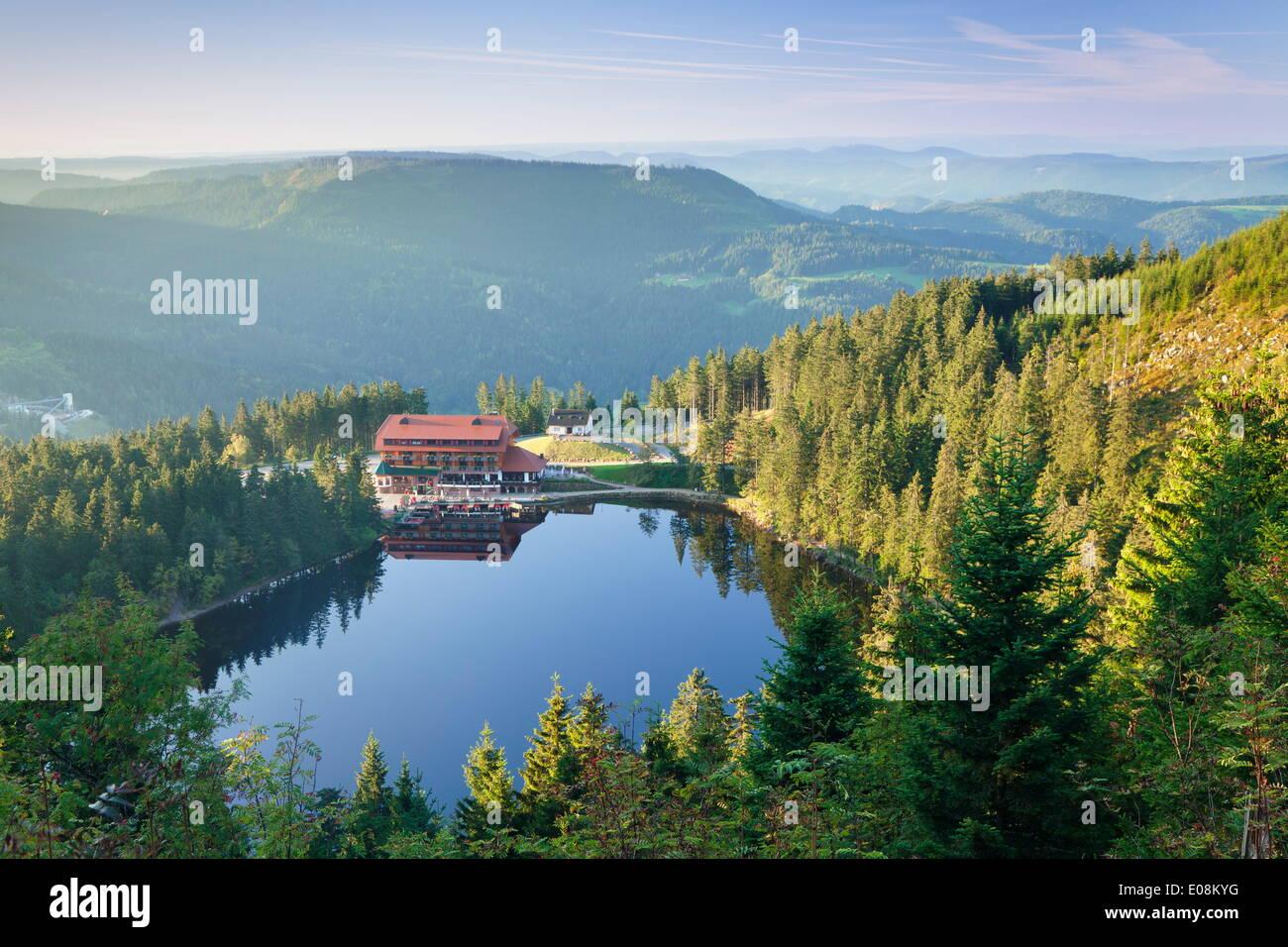 Mummelsee lake black forest baden wurttemberg germany europe stock photo royalty free image - Mobelhauser baden wurttemberg ...