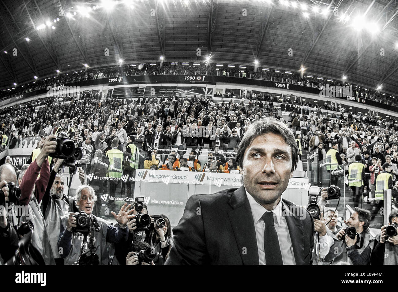 Turin italy 5th may 2014 antonio conte juventus for Tabelle juventus turin