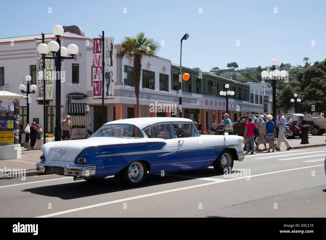 Napier Town Centre North Island New Zealand Art Deco Weekend An