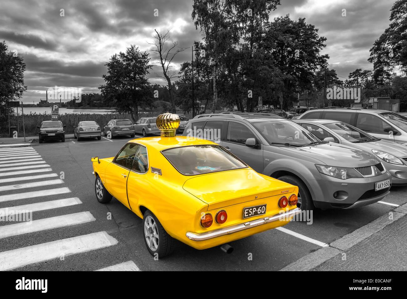 A Little Bit Differently Tuned Opel Manta Helsinki