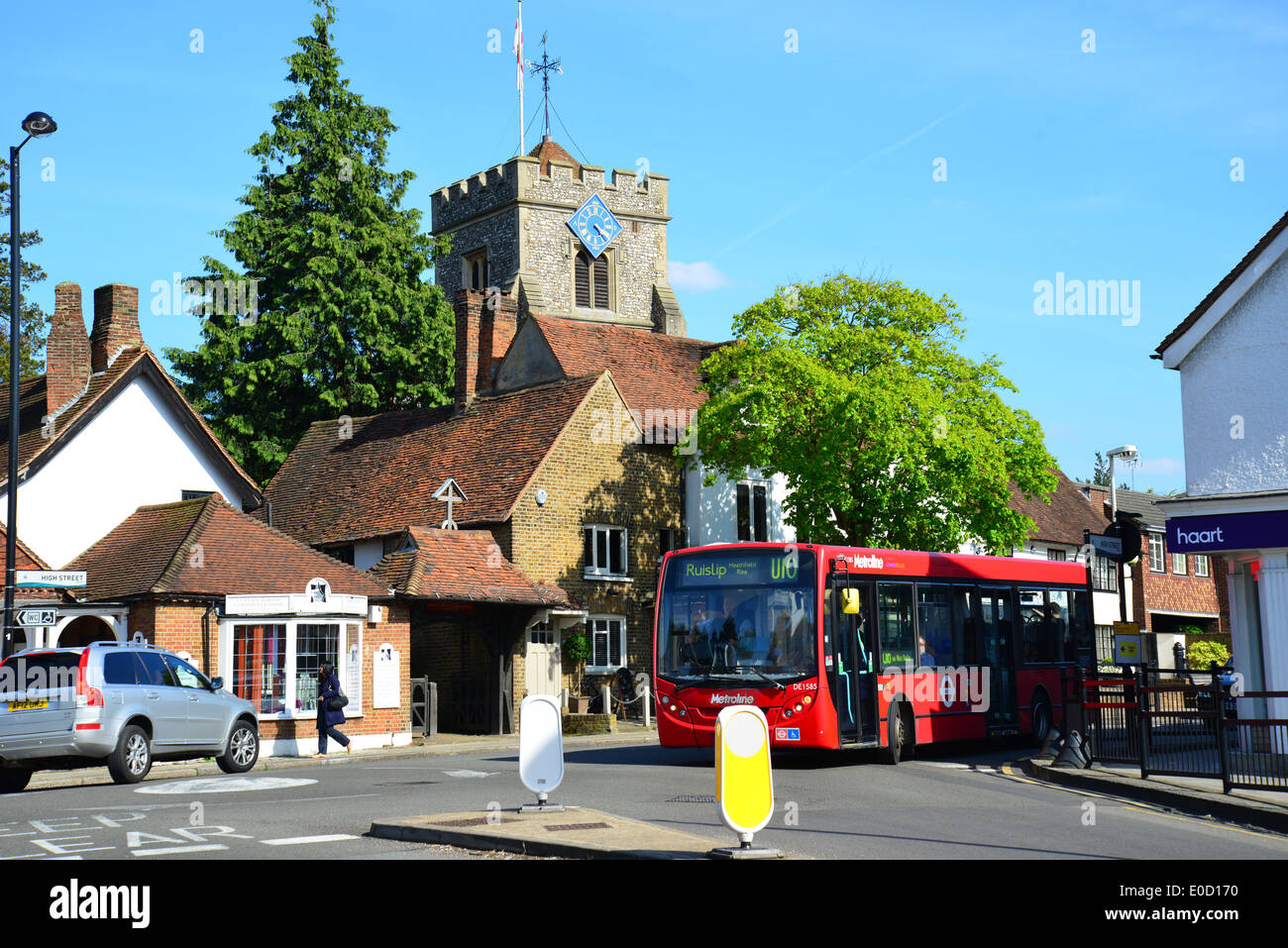 St Mary s Church  High Street  Ruislip  London Borough of Hillingdon   Greater London  England  United Kingdom. St Mary s Church  High Street  Ruislip  London Borough Of