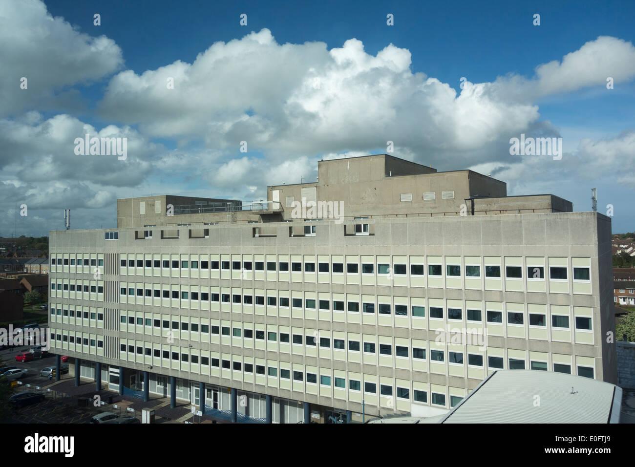 University Hospital Of North Tees Hardwick Stockton On Tees North Stock Photo Royalty Free ...