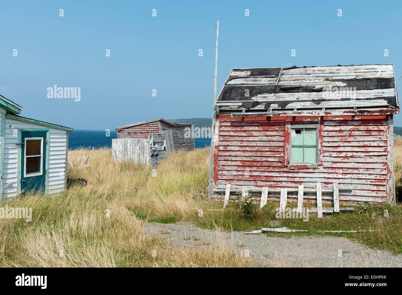 Abandoned Houses At Newman 39 S Cove Bonavista Peninsula