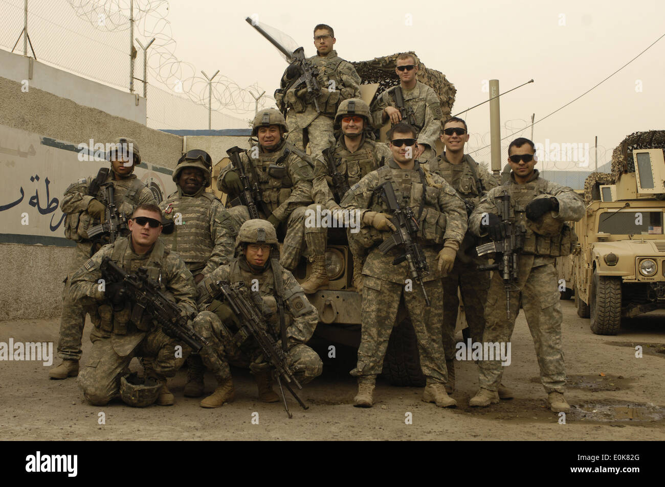 u s  army soldiers assigned to weapons squad  1st platoon
