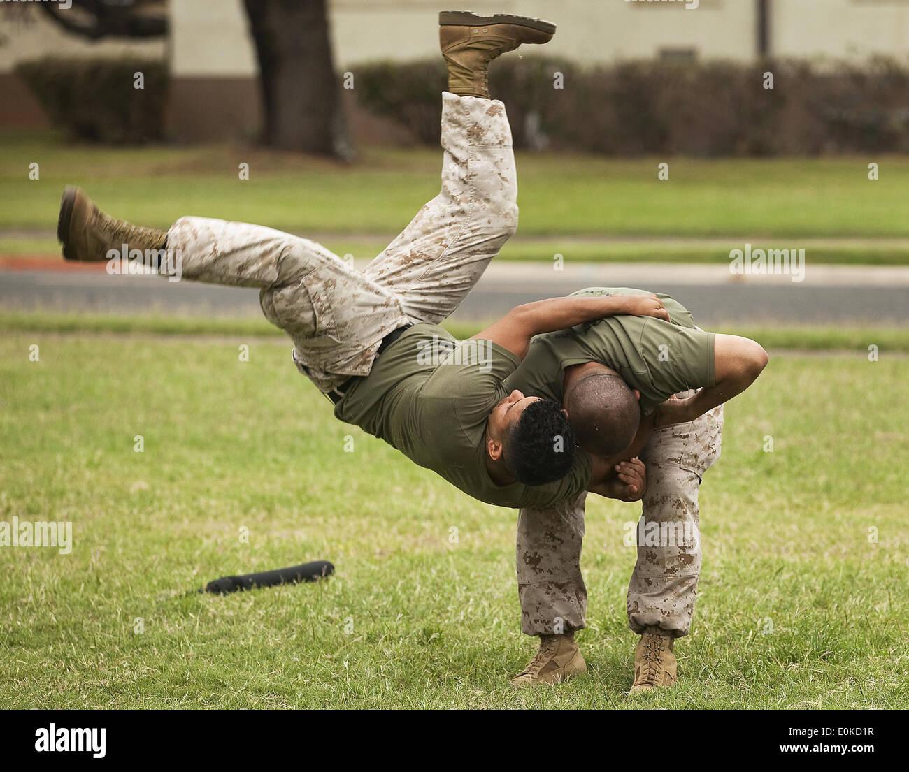 Sgt. Robert Hernandez, A Black Belt Marine Corps Martial Arts ...