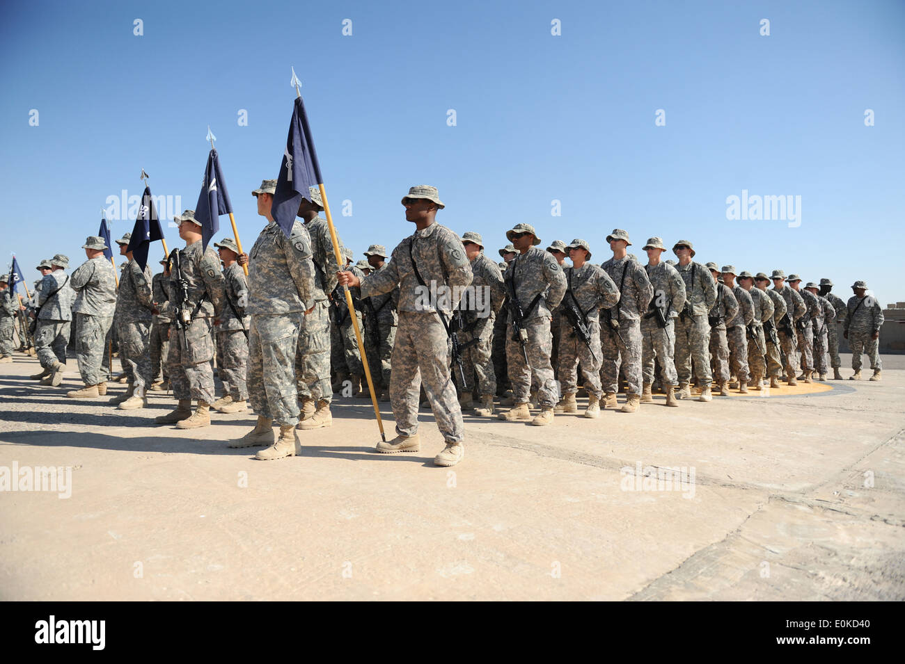 Army color casing ceremony script - U S Soldiers From 2 35 Infantry Battalion 3rd Brigade Combat Team Bct
