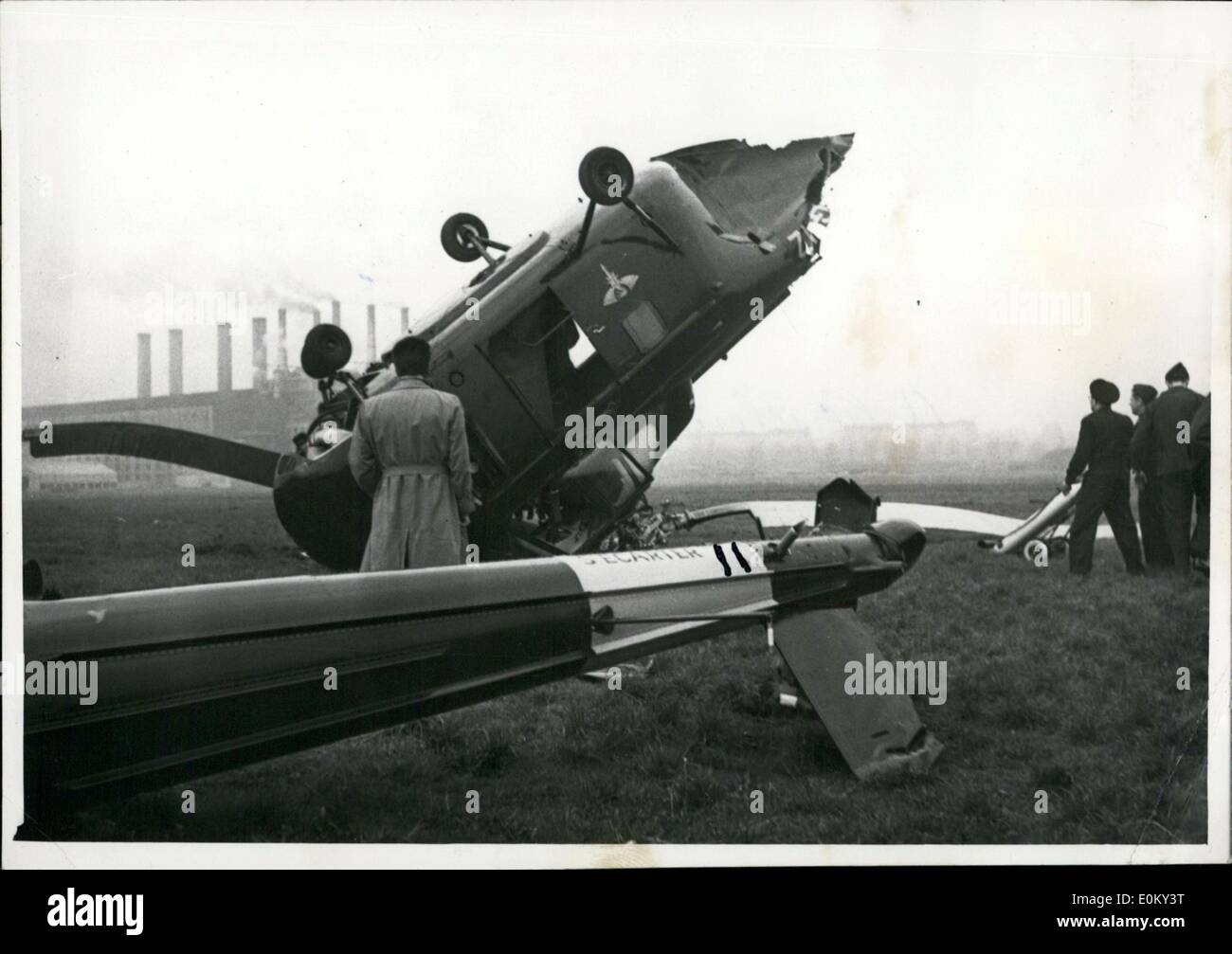 Elicottero S 55 : Nov crash of a sikorsky s helicopter