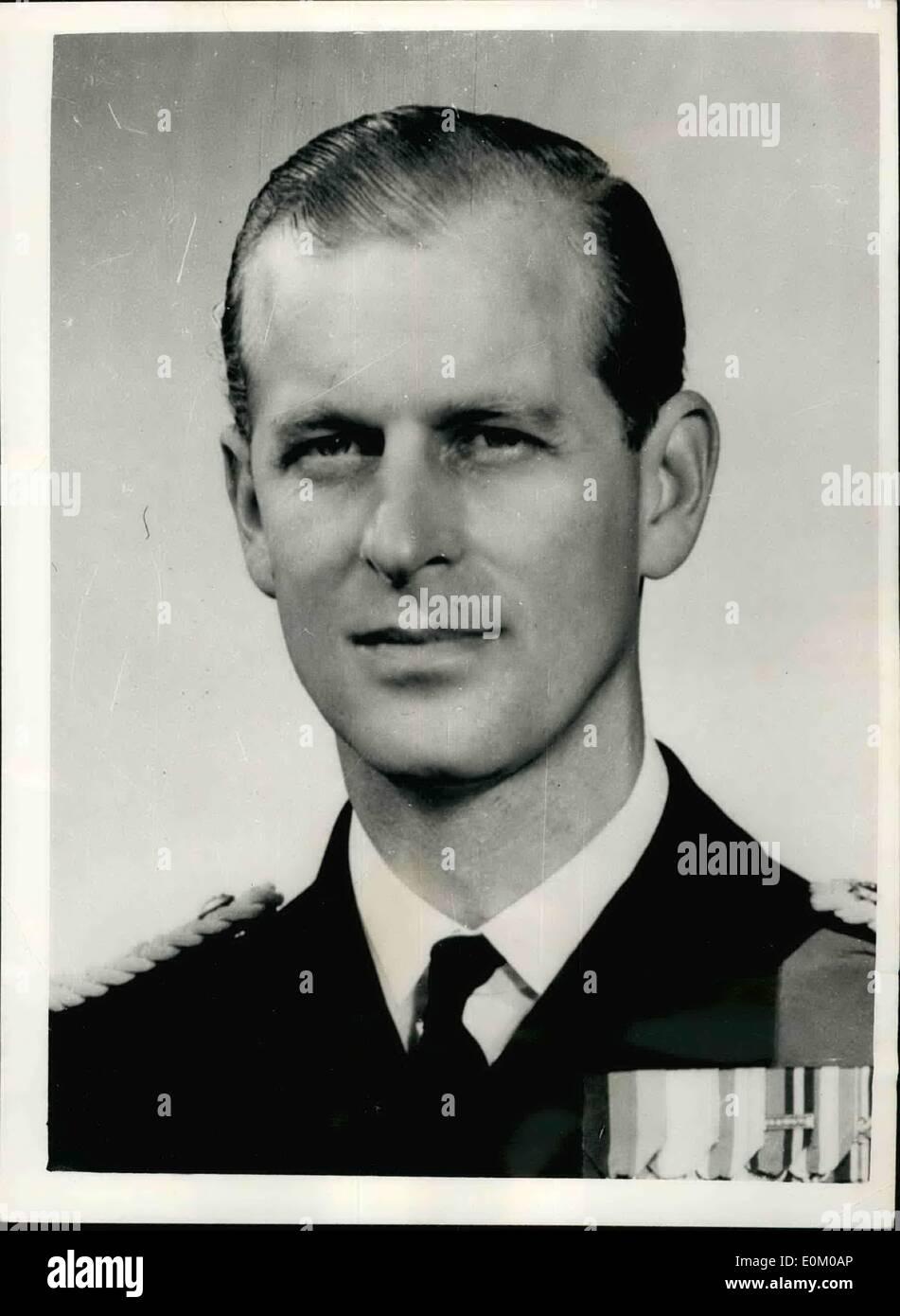 Jan. 01, 1953 - The Duke Of Edinburgh Begins To Lose His ...