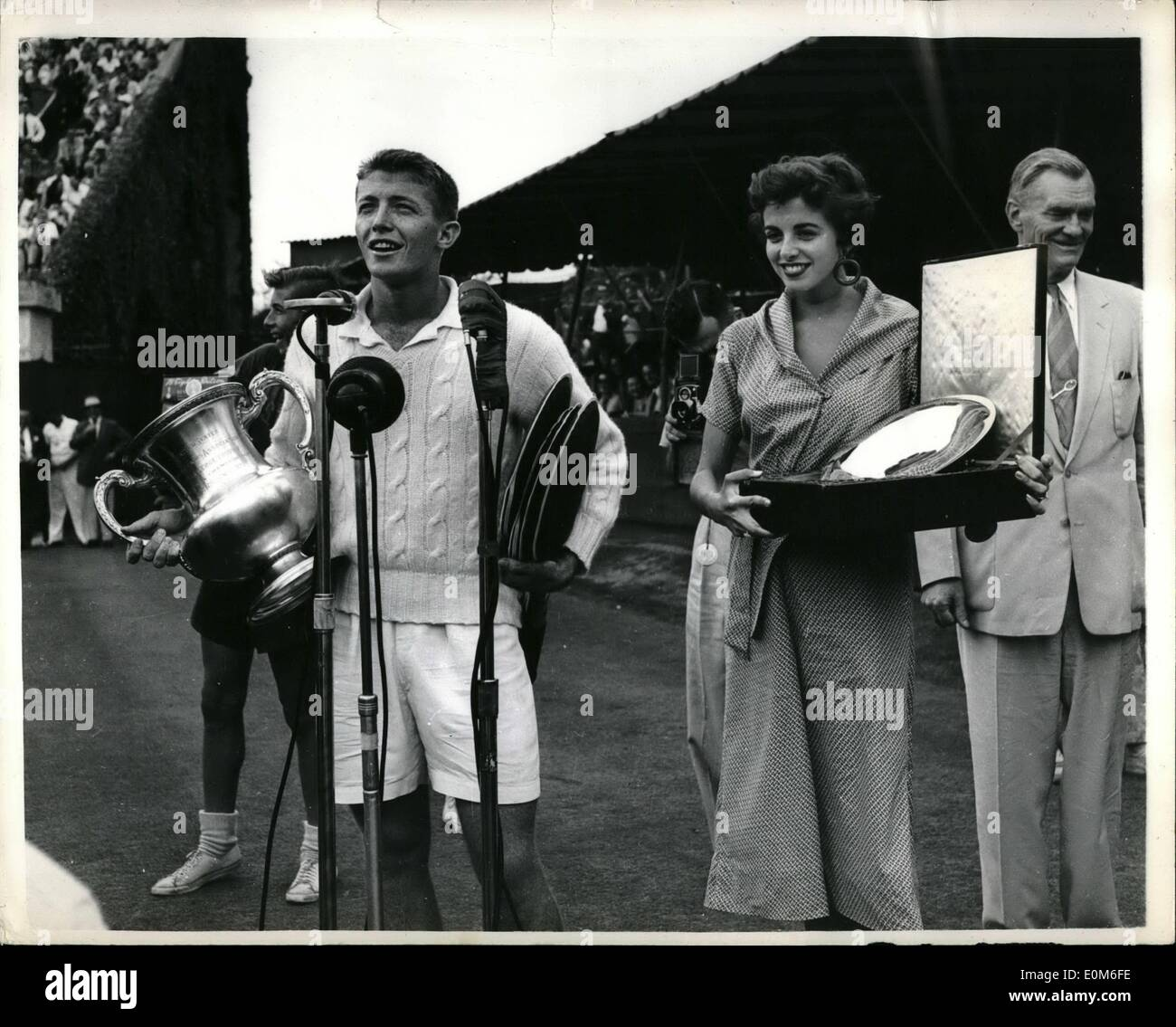 Sep 09 1953 Trabert wins U S Tennis Title Tony Trabert