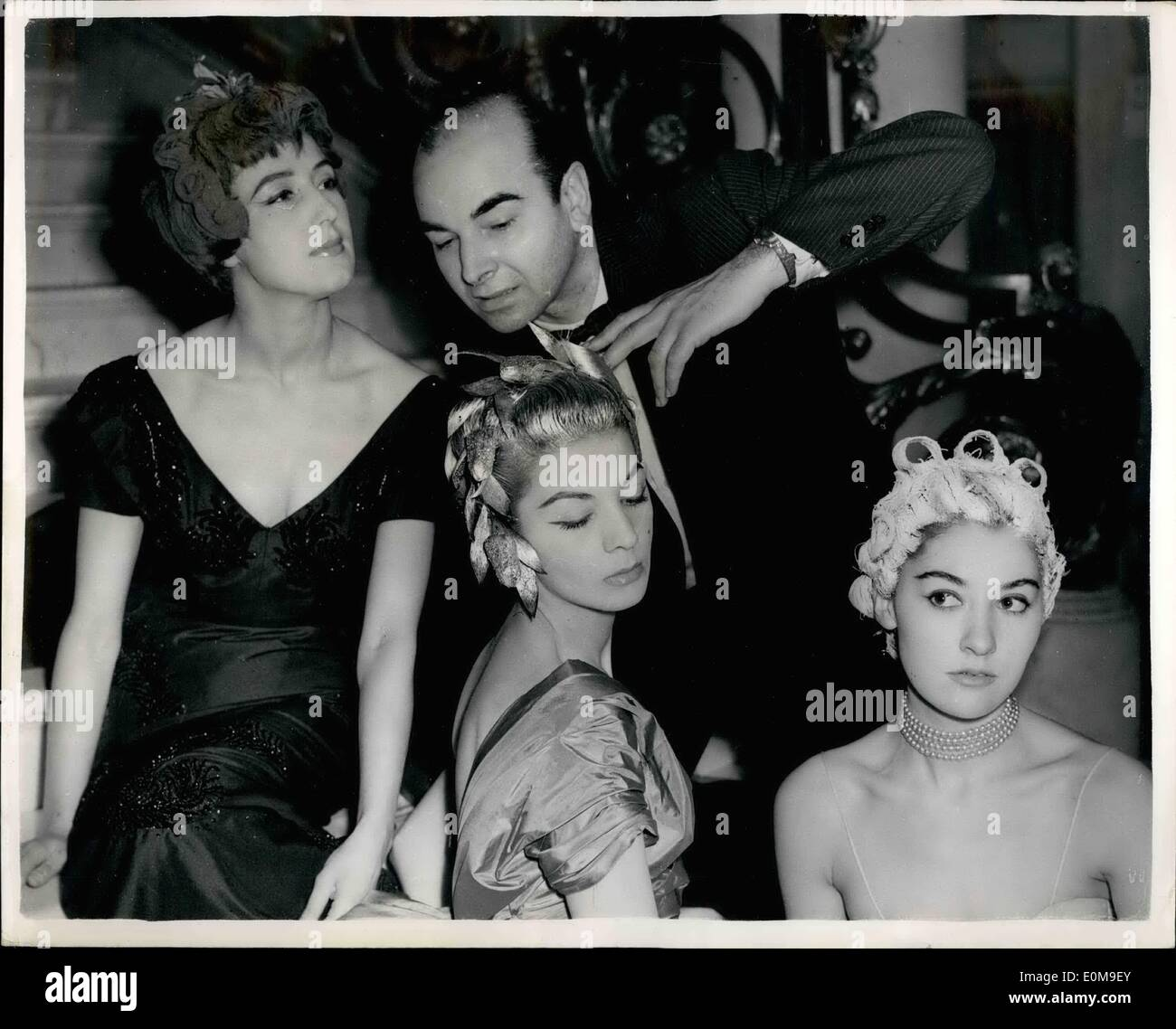 Mar 03 1954 famous french hair stylist shows his new designs 03 1954 famous french hair stylist shows his new designs m urmus Choice Image