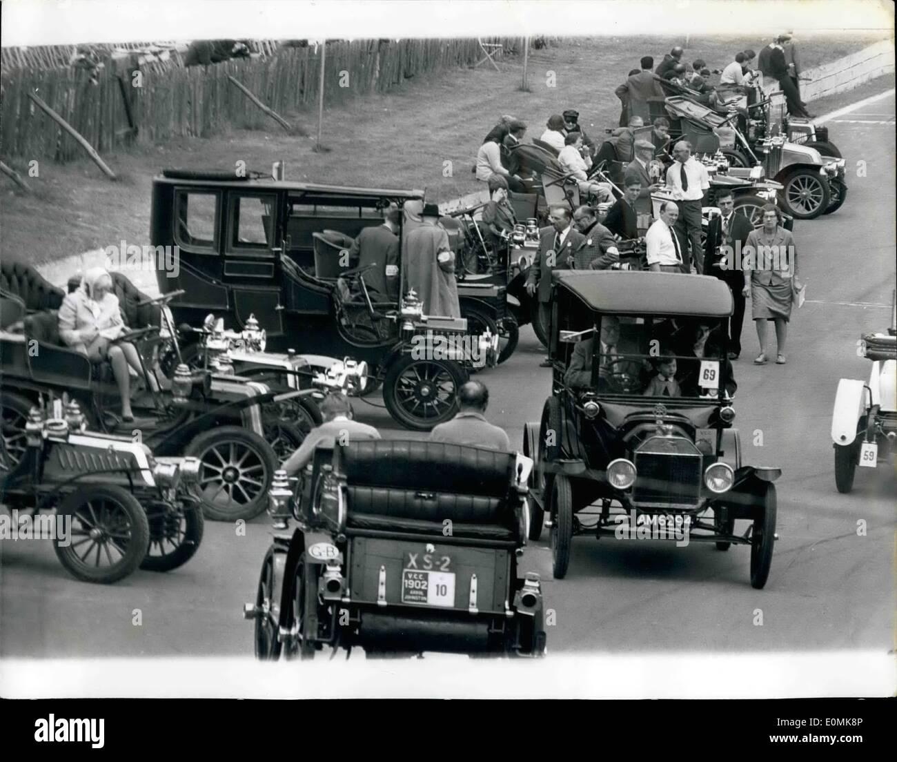 Jul. 07, 1955 - Veteran Car Rally At Crystal Place: A magnificent ...