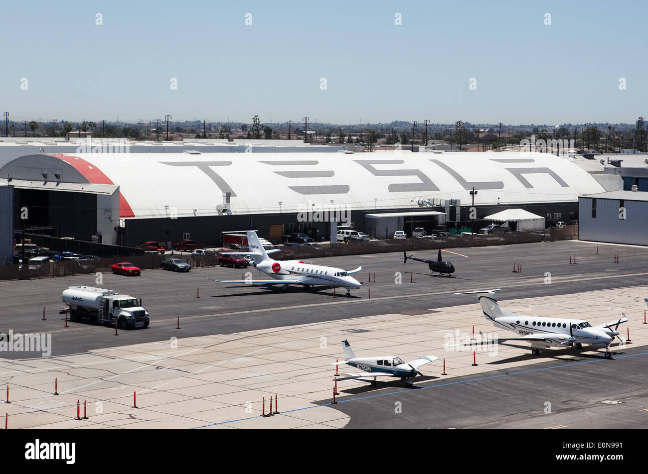 Hawthorne california usa 15th may 2014 the tesla for Airport motors inc auburn al