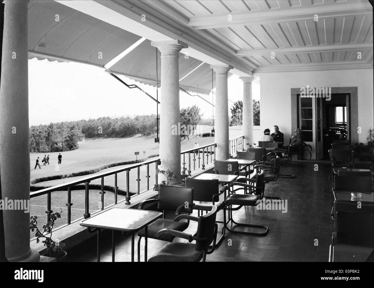 hotel do parque estoril portugal stock photo royalty free image 69333574 alamy. Black Bedroom Furniture Sets. Home Design Ideas