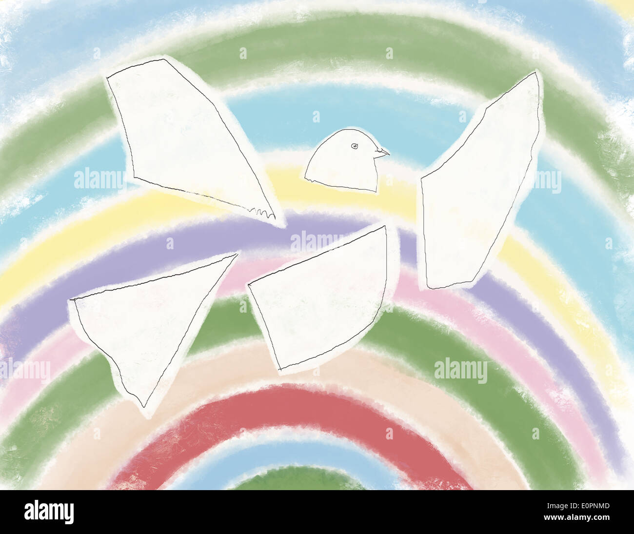 The dove the symbol of hope stock photo 69341453 alamy the dove the symbol of hope buycottarizona Image collections