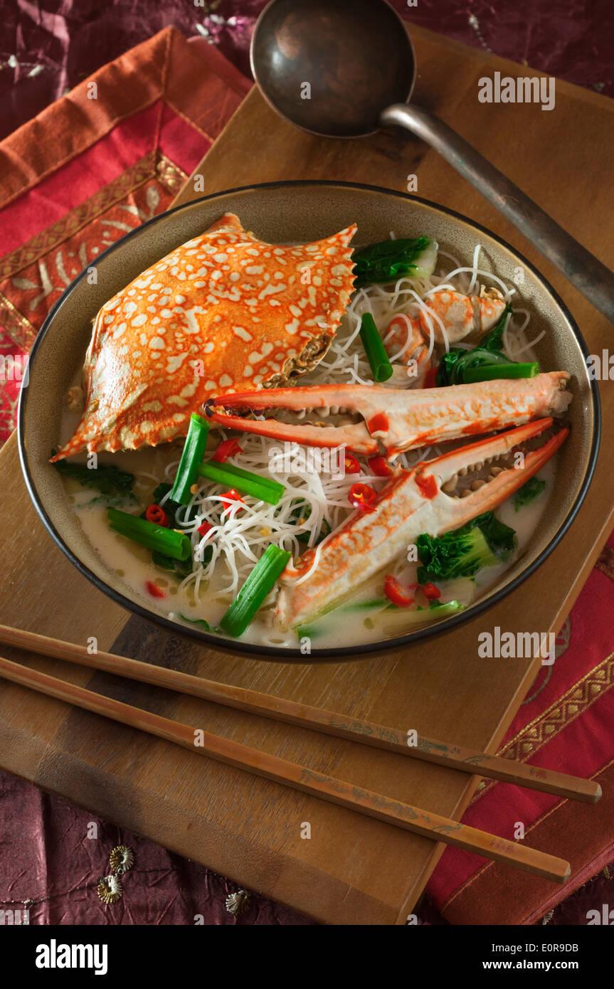 Crab Bee Hoon (Crab Noodles) Recipes — Dishmaps