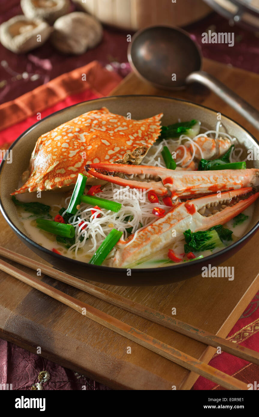 ... crab bee hoon soup served crab bee hoon crab bee hoon braised crab bee