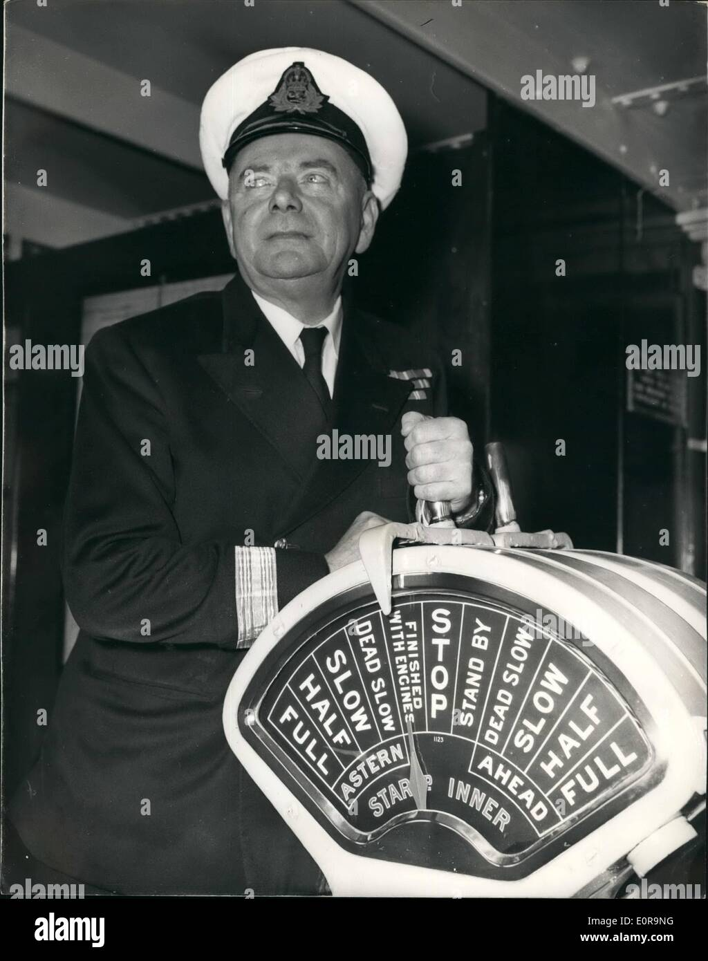 Queen Mary Engine Room: Commodore Of The Cunard Fleet Retires