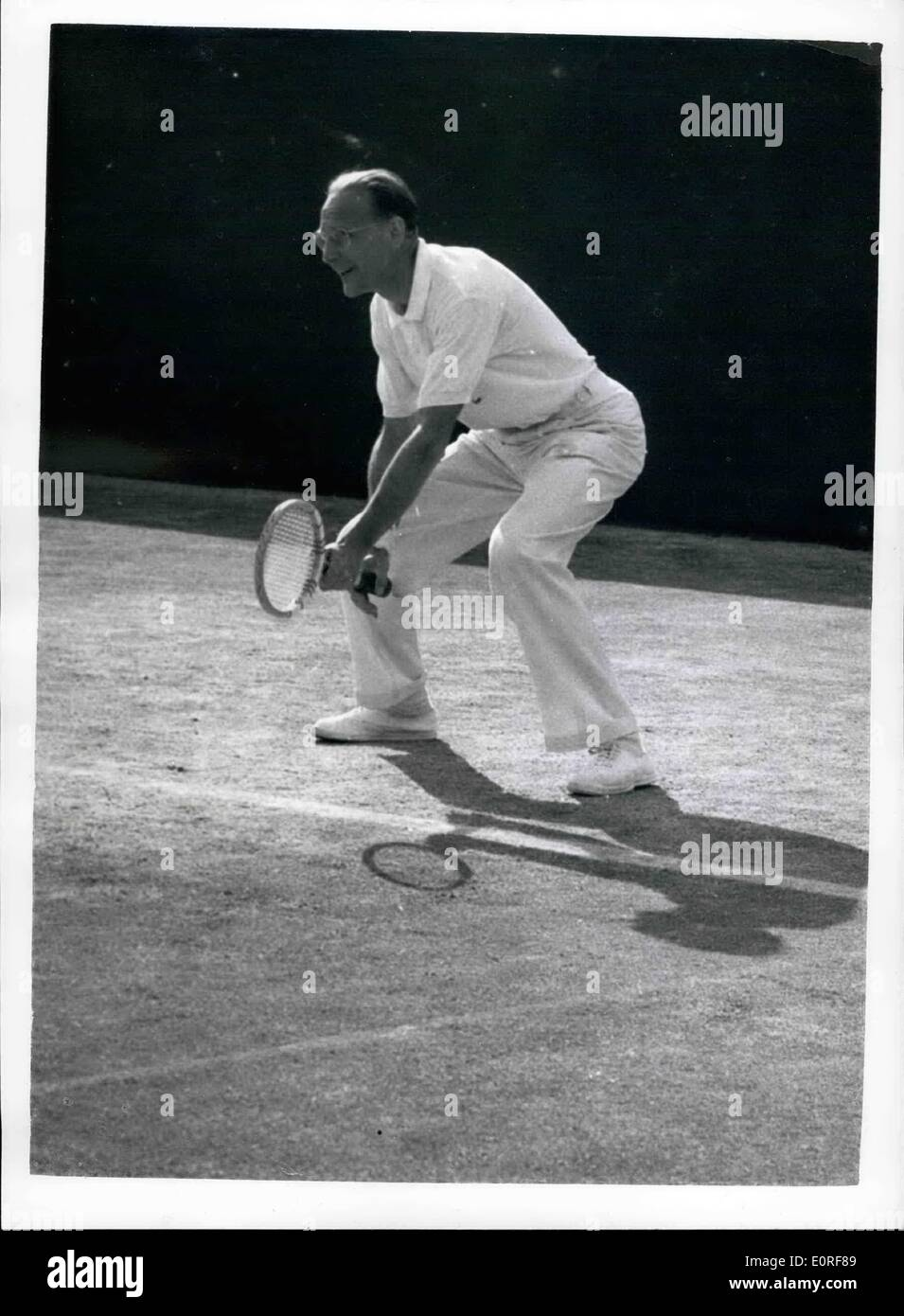Jun 06 1959 Wimbledon Championships Fifth day 60 year old