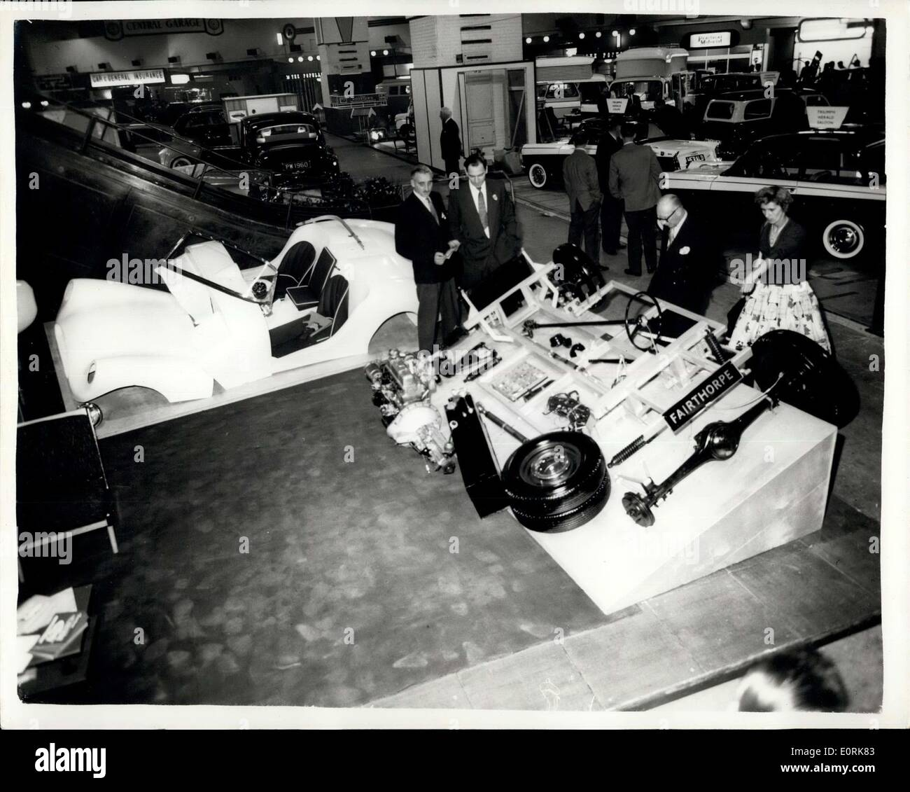 Oct 20 1959 motor show preview at earls court do it yourself do it yourself kit photo shows view of the fairhorpe electron minor do it yourself car kit which in priced at 46 0 solutioingenieria Image collections