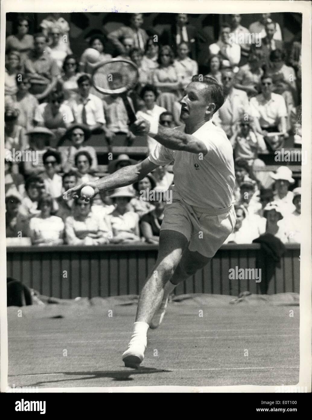 Jun 06 1960 Wimbledon Championships First Day Rod Laver of