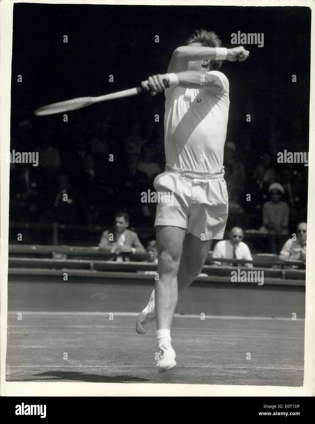 Jun 20 1960 Wimbledon Championships First Day Billy Knight