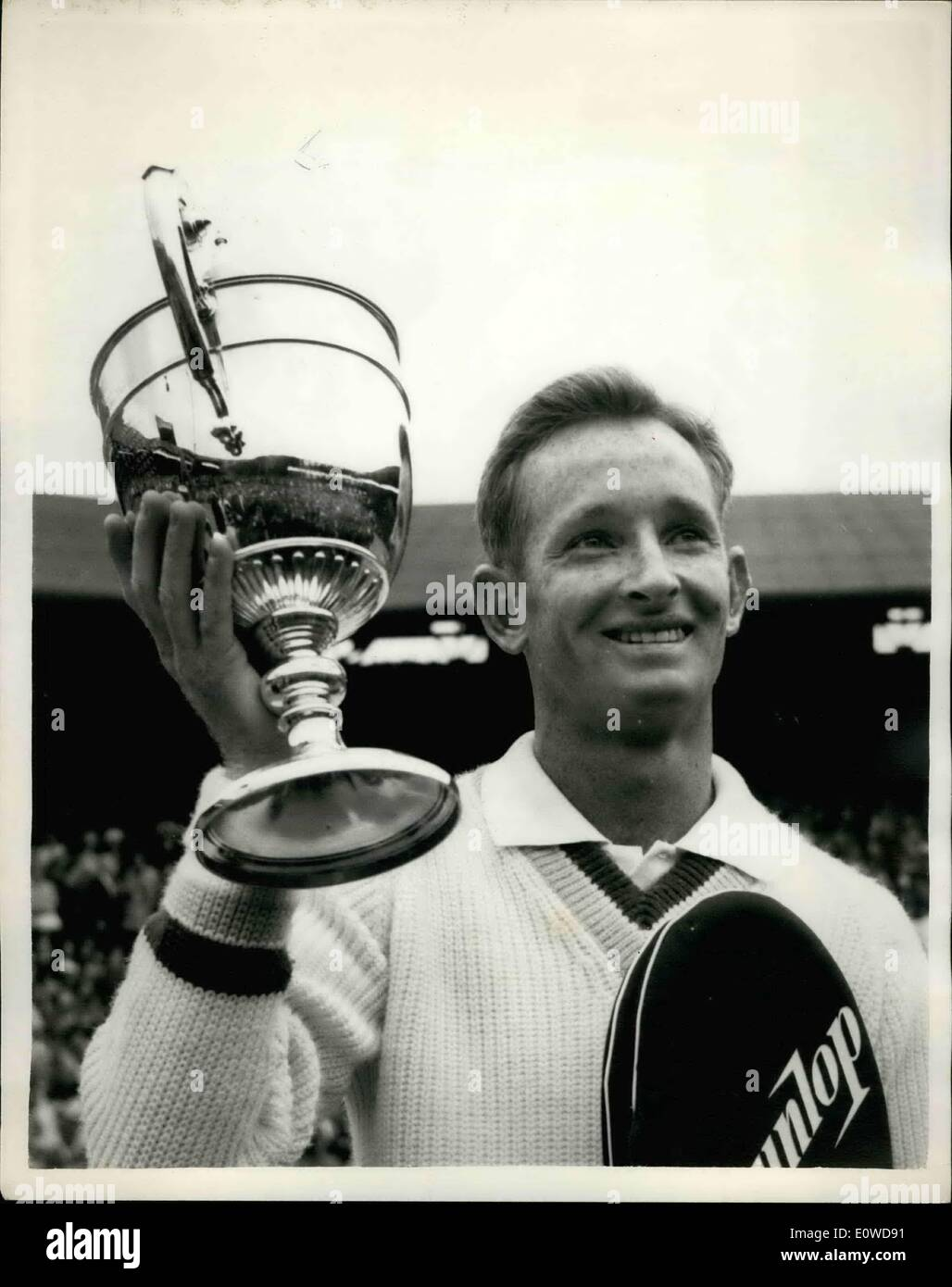 Jun 06 1962 Laver wins Wimbledon Title again shows Rod