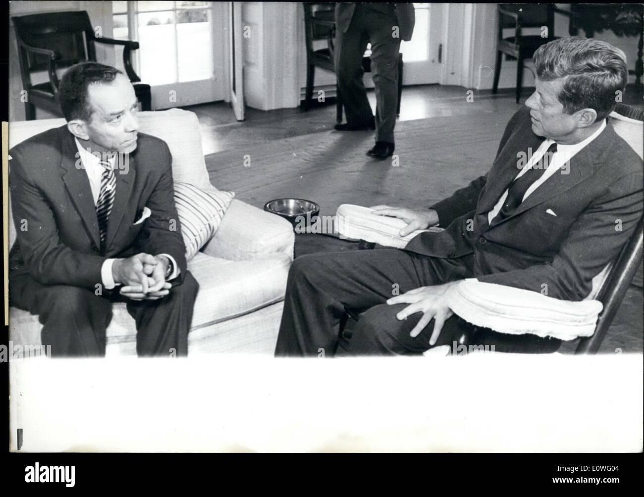 Sep. 09, 1962 - Foy Kohler (left), the new US Ambassador to the ...