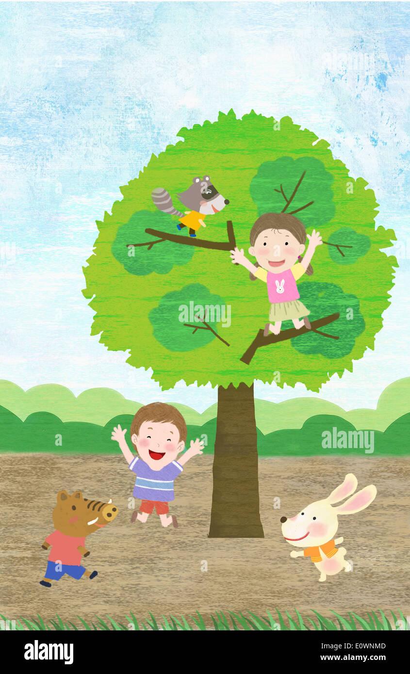 Картинки животных и природы для детей