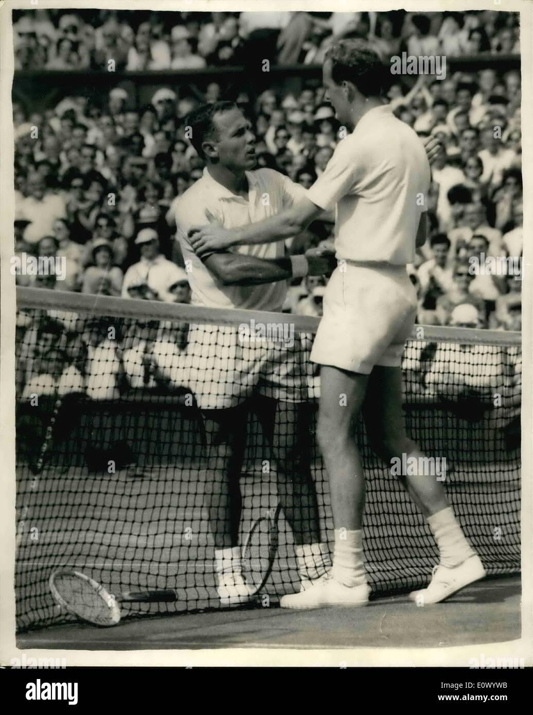 Jul 07 1964 Wimbledon Championship Men s Semi Final Fred
