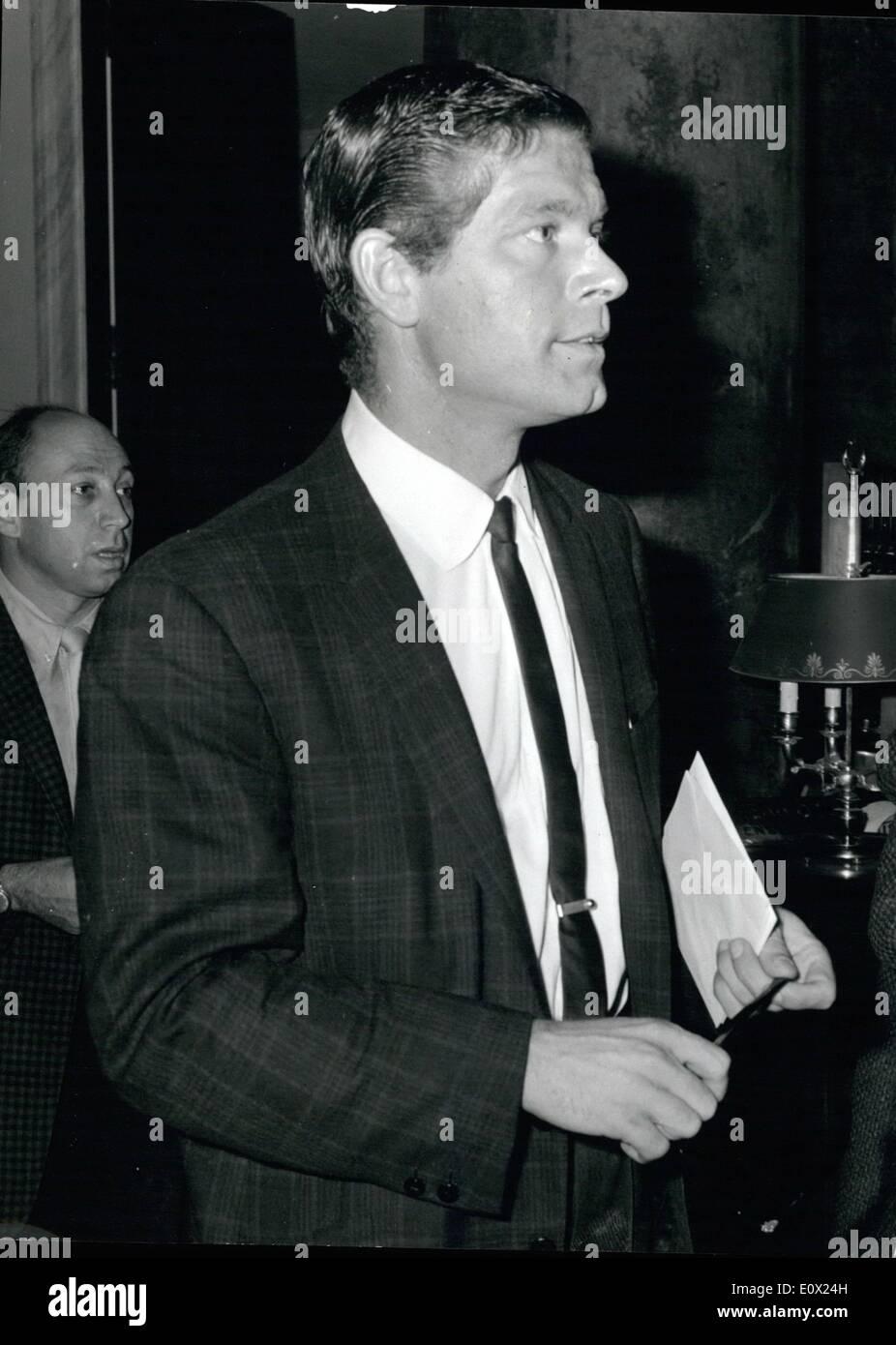Nov. 11, 1964 - Rome, November 13, 1964- Stephen Boyd, The Well ...