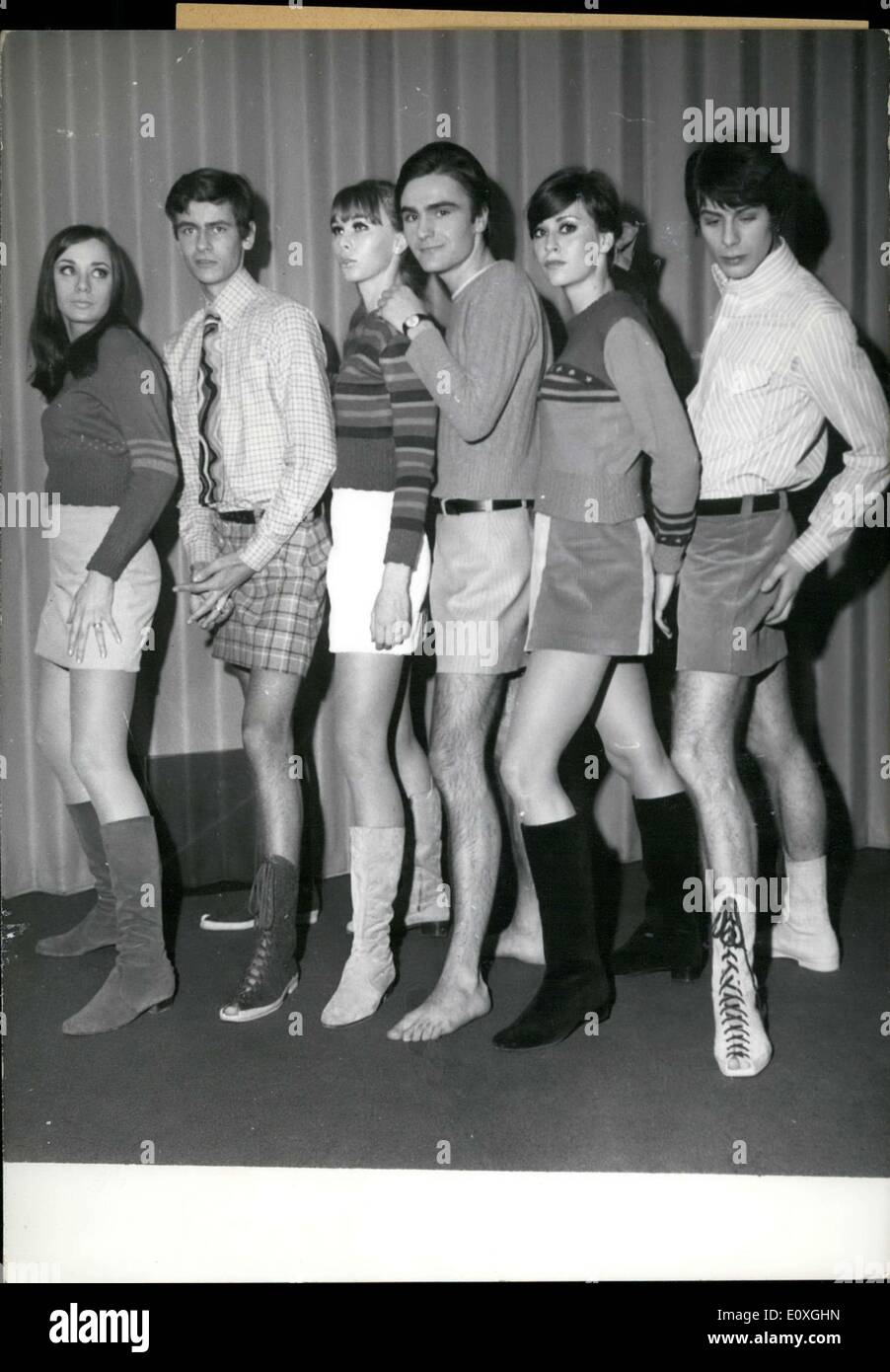 Dec. 06, 1966 - These Munich Residents Think These Mini-skirts Are ...