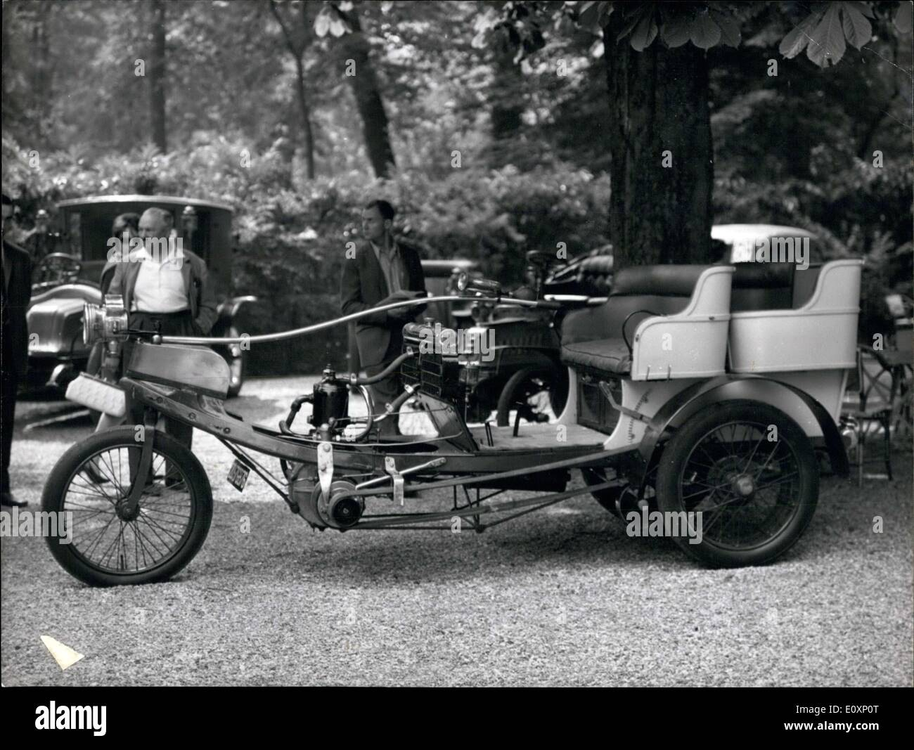 Jul. 06, 1967 - About forty old cars from the Belle Epoque were sold ...
