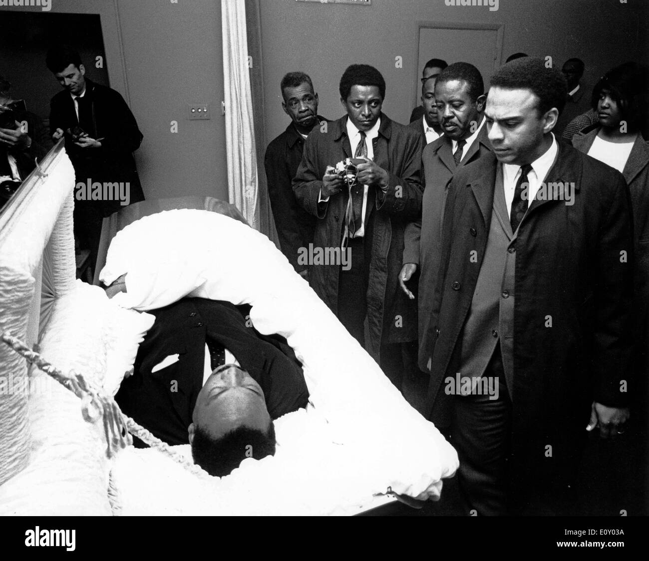 Martin Luther King Funeral Funeral of reverend Ma...