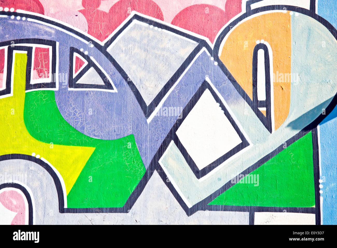 Graffiti wall amsterdam - Graffiti Wall In Amsterdam The Netherlands