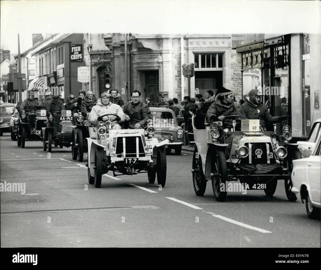 Nov. 11, 1970 - Veteran car run to Brighton; The annual Veteran Car ...