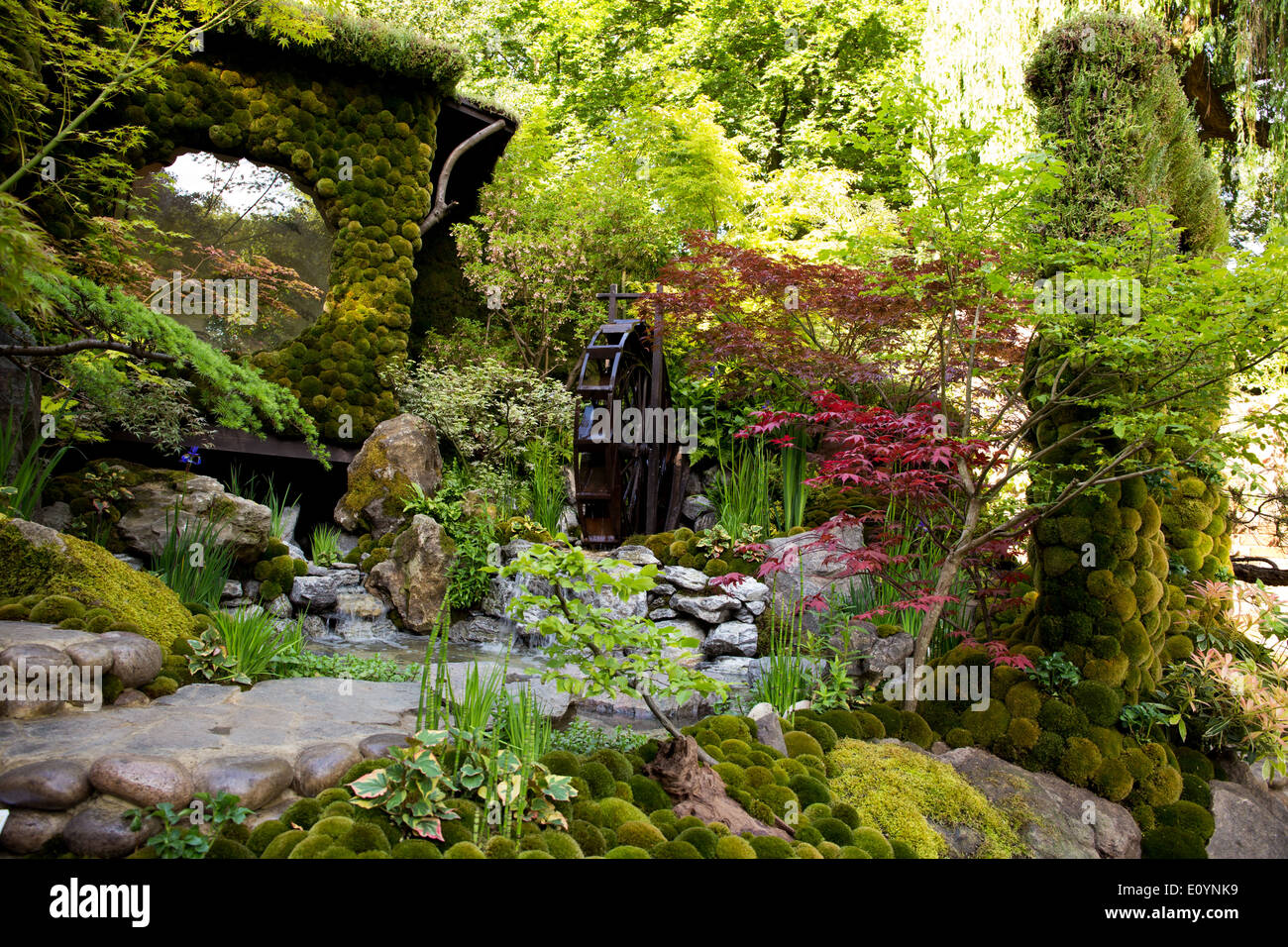 """RHS Chelsea Flower Show From the Artisan Gardens """"Togyenko A Stock Pho"""