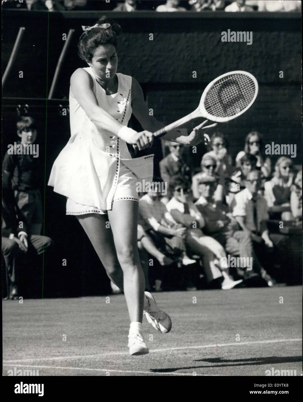 Jun 06 1971 Wimbledon Tennis Championships 2nd Day Virginia