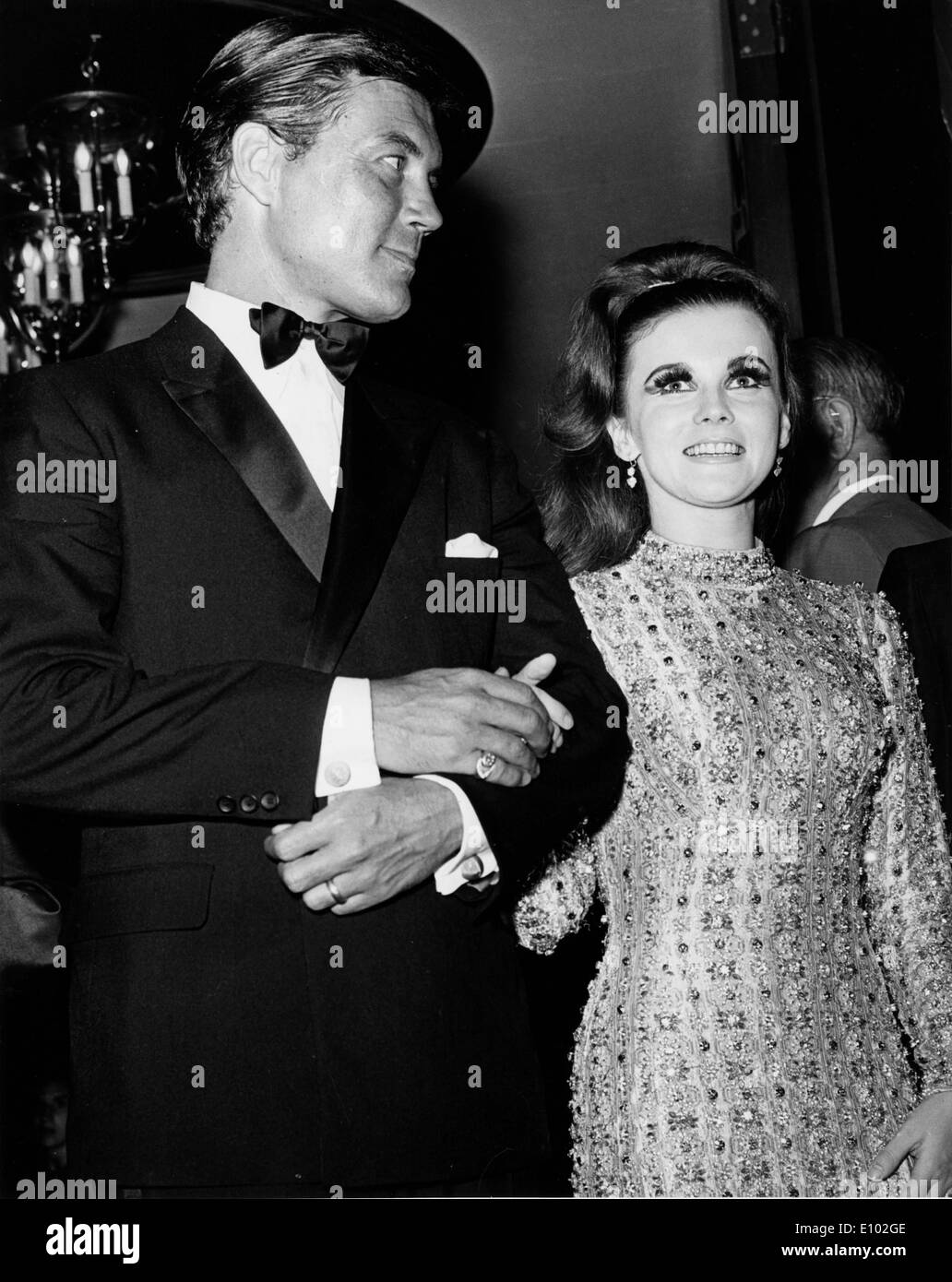 Actress Ann Margret At After Party With Roger Smith Stock