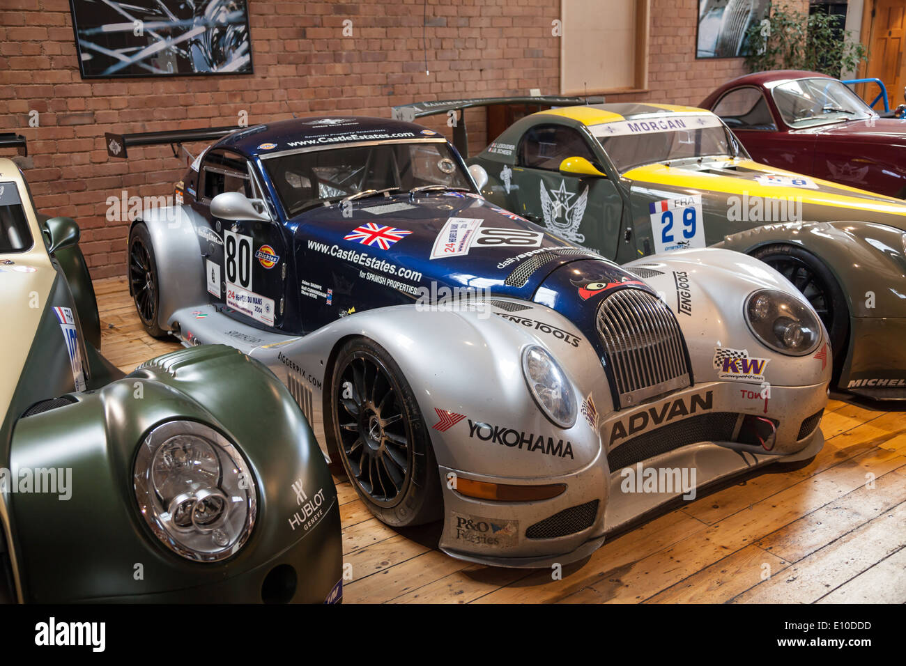 Morgan aero stock photos morgan aero stock images alamy morgan aero supersport gt3s at the morgan motors car factory museum malvern worcestershire england uk vanachro Images