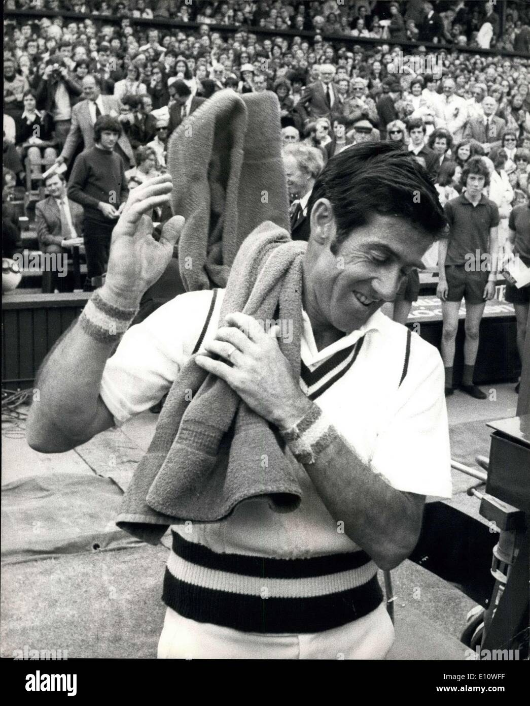 Jul 03 1974 Wimbledon Tennis Championships John New be Is