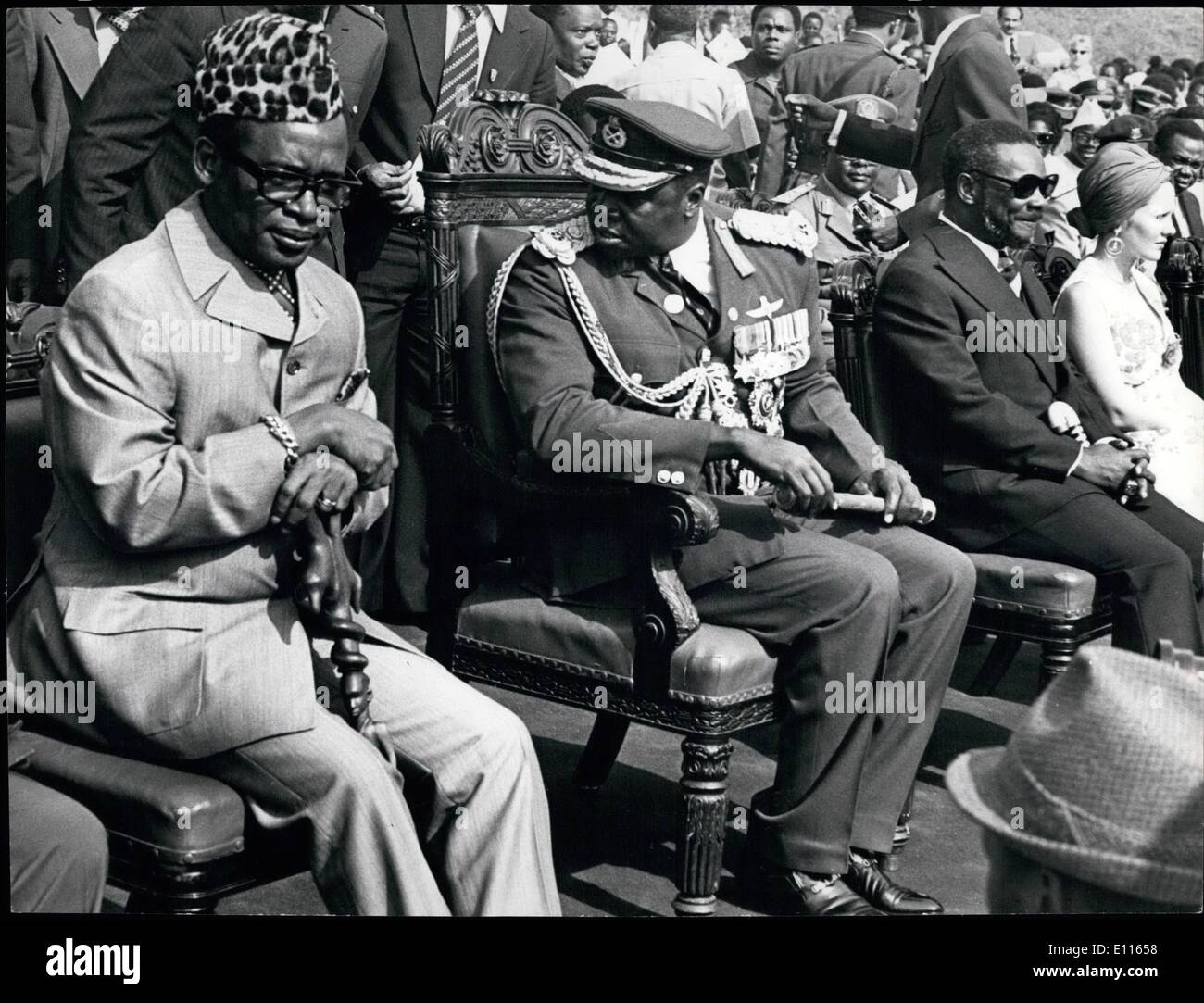 Image result for photos mobutu bokassa