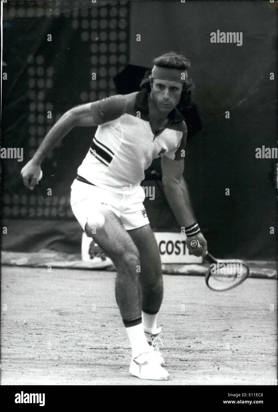 Jun 06 1977 Argentinian Guillermo Vilas won the French Open at