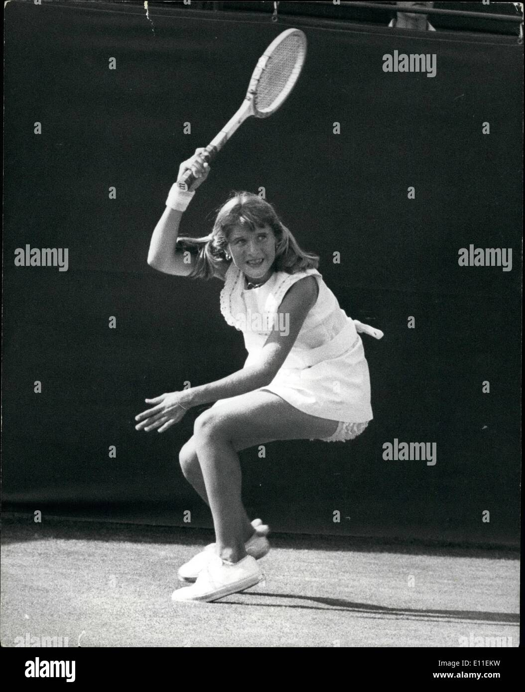 Jun 06 1977 Tracy Austin the 14 year old American Tennis Star