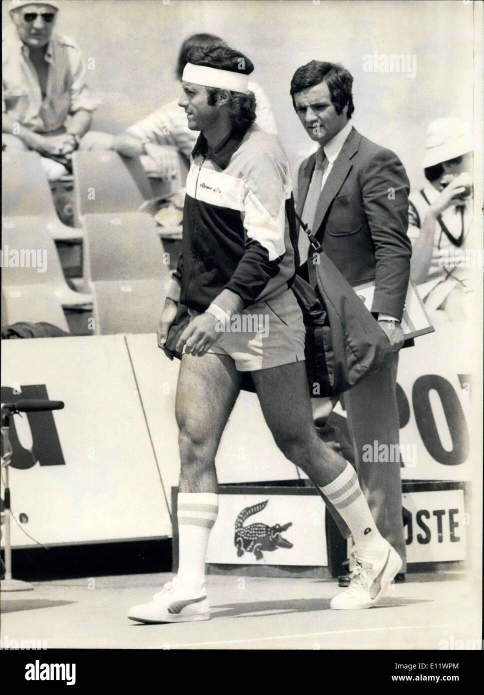 Jun 04 1980 Guillermo Villas Argentina won his match against