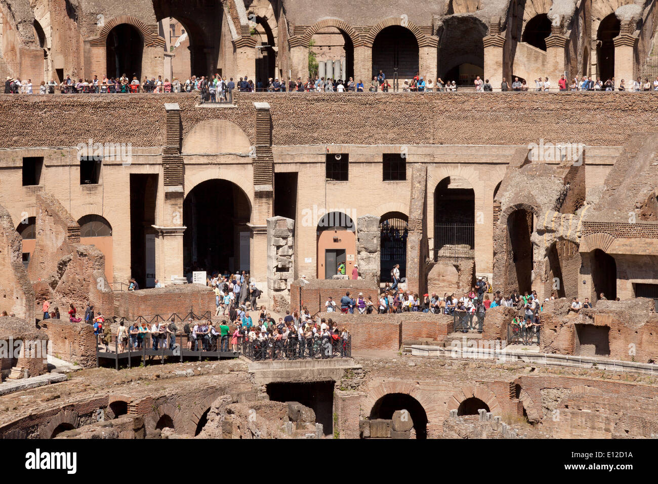 Colosseum rome interior aka the flavian amphitheatre ancient 1st colosseum rome interior aka the flavian amphitheatre ancient 1st century ad roman building rome italy europe publicscrutiny Image collections